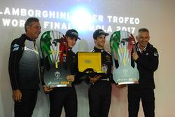 Les vainqueurs en Pro, Trent Hindman, Riccardo Agostini