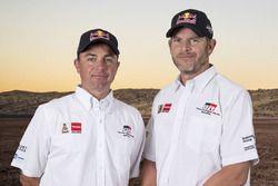 Giniel de Villiers, Dirk von Zitzewitz, Toyota Gazoo Racing
