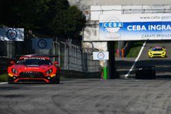 #89 Akka ASP Team Mercedes-AMG GT3: Eric Debard, Philippe Giauque, Fabien Barthez