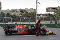 Race retiree Max Verstappen, Red Bull Racing RB14