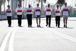 Marcus Ericsson, Sauber pist yürüyüşü