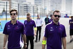 Alex Lynn, DS Virgin Racing, walks the track