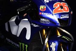 Carenado en la moto de Maverick Viñales, Yamaha Factory Racing