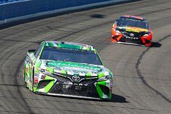 Kyle Busch, Joe Gibbs Racing, Toyota Camry Interstate Batteries and Martin Truex Jr., Furniture Row