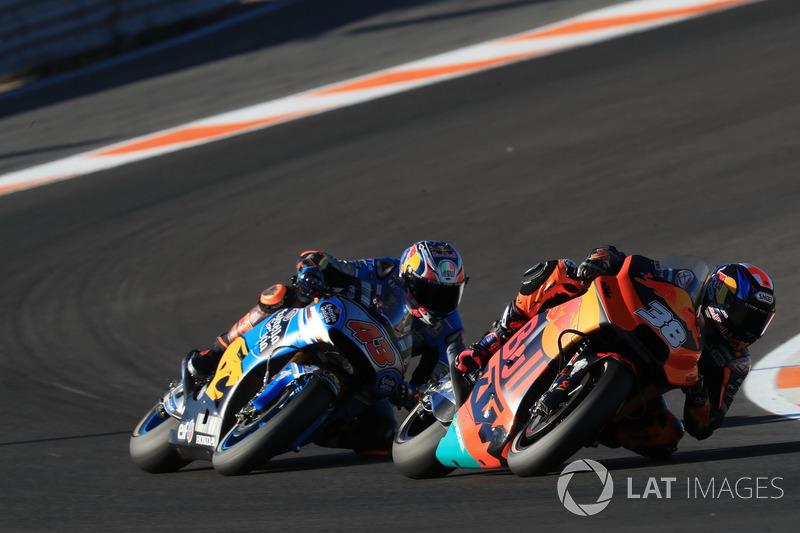 Bradley Smith, Red Bull KTM Factory Racing, Jack Miller, Estrella Galicia 0,0 Marc VDS