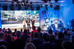 Alejandro Agag, Founder & CEO of Formula E and Ulrich Spiesshofer, CEO of ABB