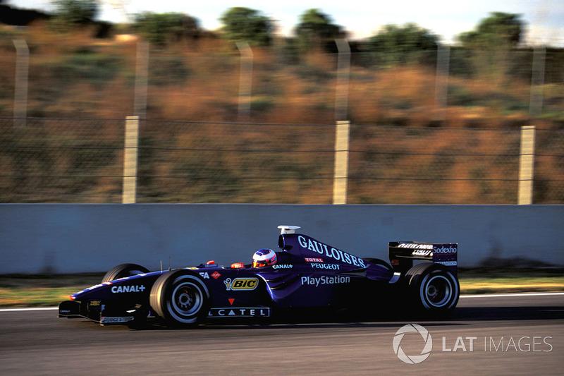Дженсон Баттон, Prost Peugeot AP02, тесты в конце 1999 года