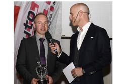 Marcel Steiner à la cérémonie des champions de ASS à Berne