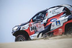 #346# Andre Villas-Boas (PRT) of Overdive Toyota races during stage 1 of Rally Dakar 2018