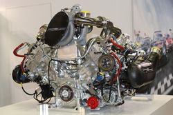 The V6 turbo 3.4 liter Mecachrome for privateer LMP1 teams