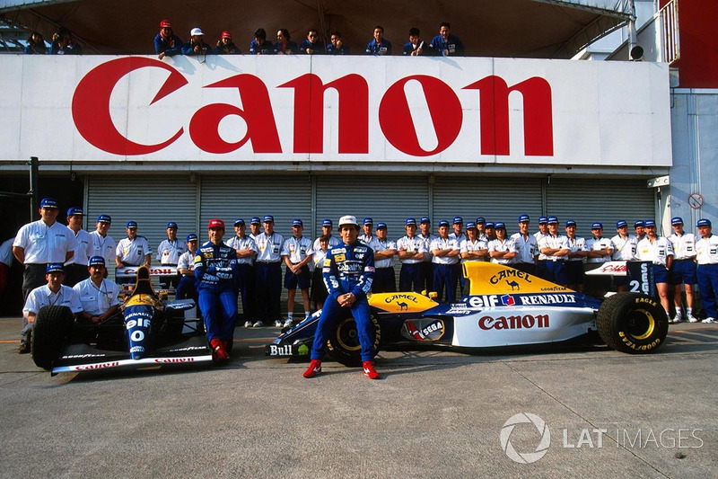 Williams: 7 victorias seguidas en 1993