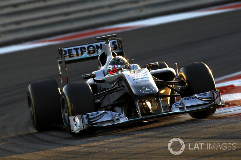 2010 : Mercedes W01