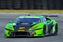 #19 GRT Grasser Racing Team Lamborghini Huracan GT3: Ezequiel Perez Companc, Christian Engelhart, Ch