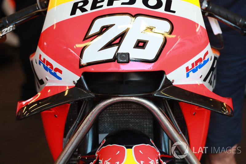 Обтічник на мотоциклі Repsol Honda Team