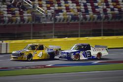 Todd Gilliland, Kyle Busch Motorsports, Toyota Tundra Pedigree, Myatt Snider, ThorSport Racing, Ford F-150 Century Container/ Louisiana Hot Sauce