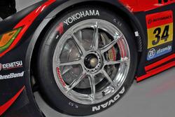 Modulo KENWOOD NSX GT3のホイール