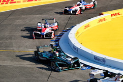 Митч Эванс, Jaguar Racing, Ник Хайдфельд и Феликс Розенквист, Mahindra Racing