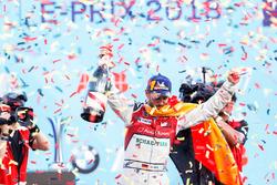 Daniel Abt, Audi Sport ABT Schaeffler, vincitore dell'ePrix di Berlino