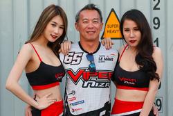 Douglas Khoo, Viper Niza Racing with Lovely Viper Niza Racing girls