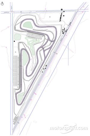 Mundijong race track layout