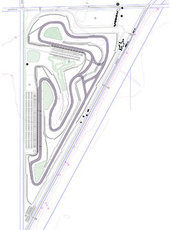 Mundijong race track layout