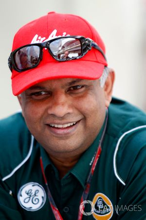 Tony Fernandes, team principal of Team Lotus