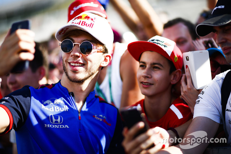 6. Pierre Gasly, Toro Rosso