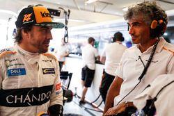 Fernando Alonso, McLaren, conversaciones con ingenieros