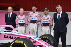Andrew Green, Sahara Force India F1 Technical Director, Nikita Mazepin, Sahara Force India F1, Esteb