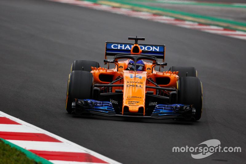 2018 : Fernando Alonso, McLaren MCL33