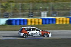 #133 MP4C Honda Civic, Rafael Rosario, Juan Paulino, J&A Motorsports