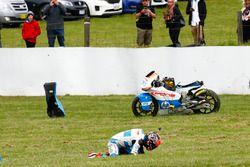 Edgar Pons, Pons HP 40 crash