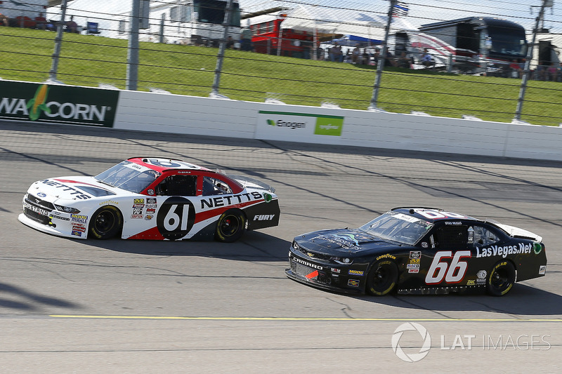 Kaz Grala, Fury Race Cars LLC, Ford Mustang NETTTS and Stan Mullis, Motorsports Business Management, Dodge Challenger TLC Resorts Chevrolet