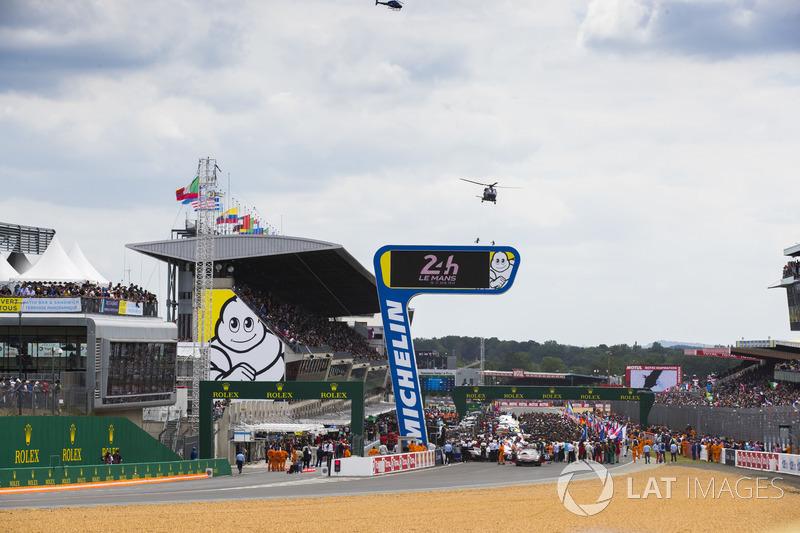 The 2018 Le Mans grid