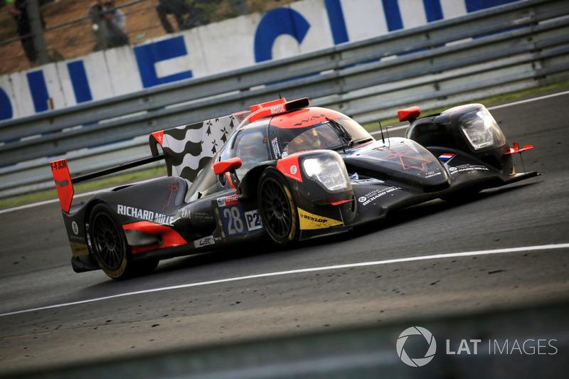 Третье место в LMP2 занял экипаж TDS Racing №28, избежавший особых проблем по ходу марафона