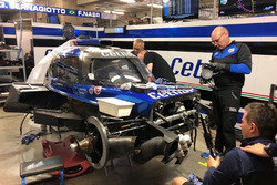 The car of #47 Cetilar Villorba Corse Dallara P217 Gibson