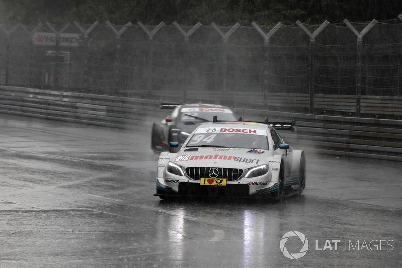 14. Pascal Wehrlein, Mercedes-AMG Team HWA, Mercedes-AMG C63 DTM