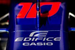 Toro Rosso Edifice Casio detail