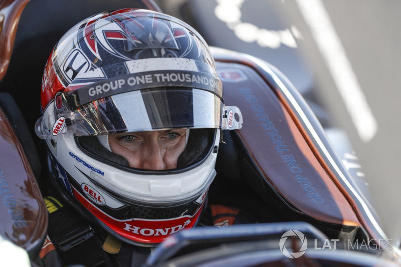 #26: Zach Veach, Andretti Autosport, Honda