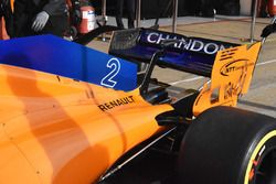 McLaren MCL33 rear bodywork detail