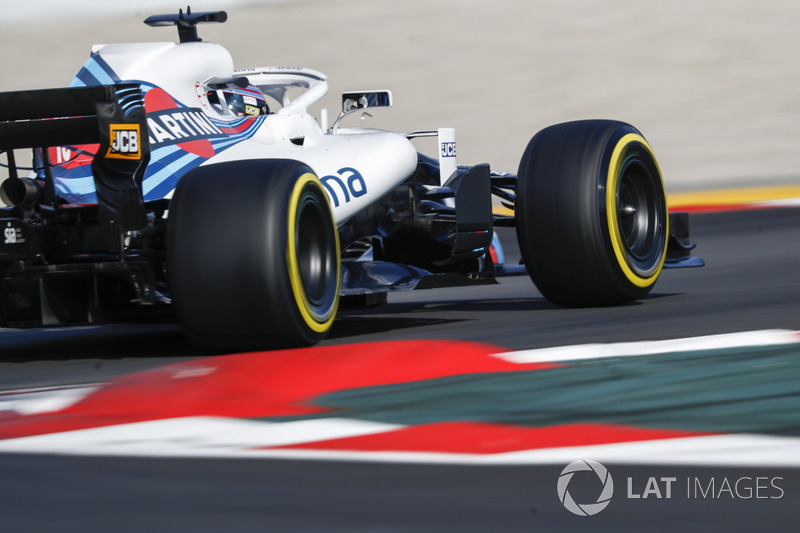 21º Lance Stroll, Williams FW41: 1:19.954 (Blandos)