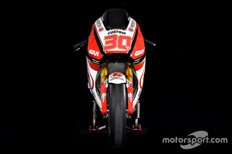 Bike of Takaaki Nakagami, Team LCR Honda