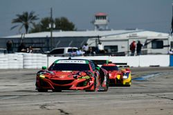 #93 Michael Shank Racing with Curb-Agajanian Acura NSX, GTD: Lawson Aschenbach, Justin Marks, Mario
