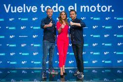Miguel Portillo, Noemí de Miguel y Albert Fábrega