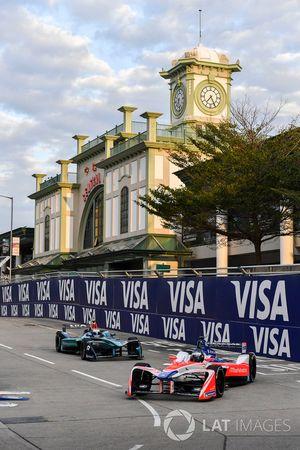 Nick Heidfeld, Mahindra Racing, voor Luca Filippi, NIO Formula E Team