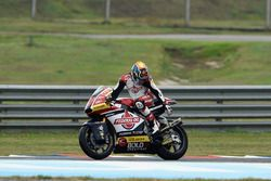 Jorge Navarro, Federal Oil Gresini Moto2 broken exhaust