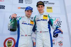 Podyum: #4 Falken Motorsport Porsche GT3-R: Klaus Bachler, Martin Ragginger