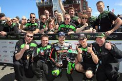 James Hillier and the Quattro Plant JG Speedfit Kawasaki team