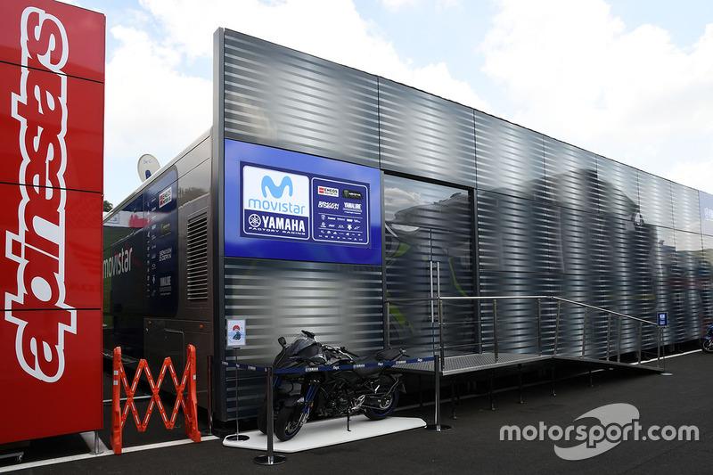 Yamaha Factory Racing motorhome