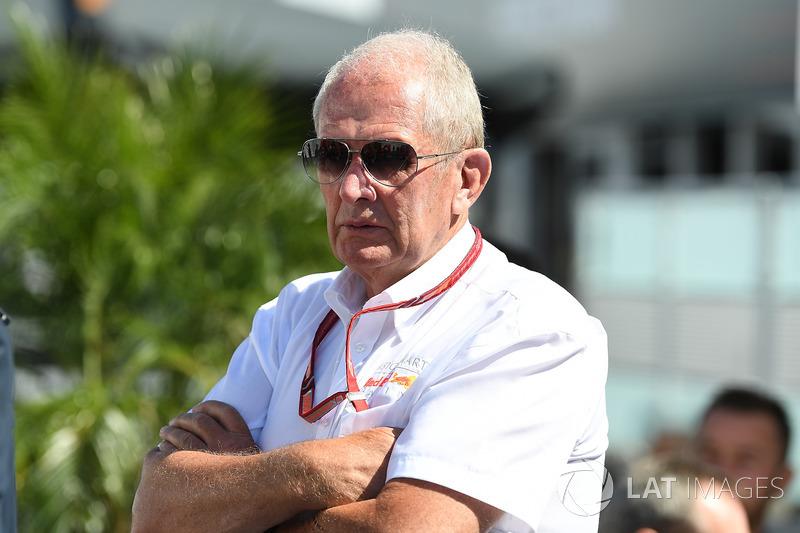 Dr Helmut Marko, Red Bull Motorsport